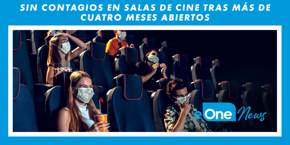 Going to the cinema is safe | No contagion in movie theaters after more than four months open